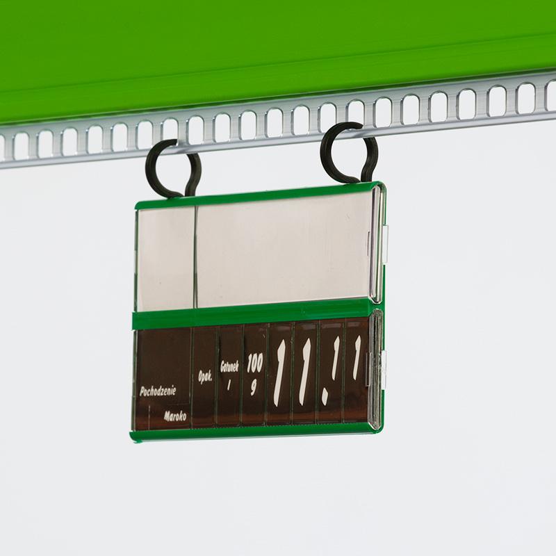 tabliczki cenowe, karty cenowe, uchwyty, klipsy, zawieszki regulowane, kasetka cenowa