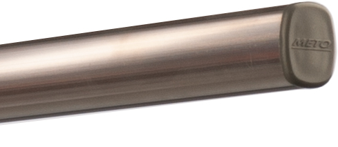 tuba do podwieszania meto, profil alu, rura, osłona ochronna, srebrna
