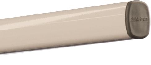 tuba do podwieszania meto, profil alu, rura, biała